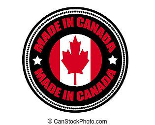 fait, canada, étiquette