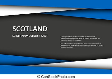 fait, espace, ecosse, symbole, drapeau, gris, gratuite, couleurs, vecteur, texte, fond, écossais, ton, icône