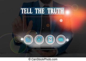 fait, hidden., écriture, dire, avouer, quelques-uns, showcasing, quelqu'un, demonstratingal, conceptuel, projection, wants, main, photo, garde, business, truth.