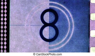 fait, pellicule, celluloïd, universel, compte rebours, 35mm,...