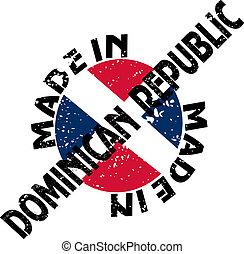 fait, république, dominicain