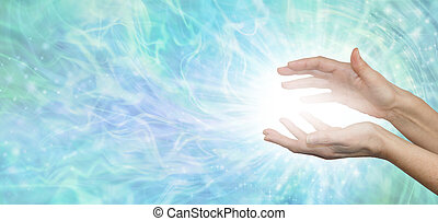 Faith Healer's website banner background