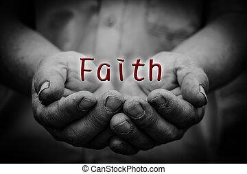 Faith in hand