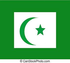 faith of islam symbol - cresent and star symbol of islam...