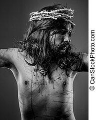 Faith, representation of Jesus Christ on the crossFaith,...