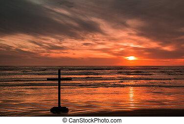 Faith Sunset Cross