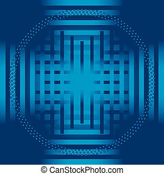 faixa azul, círculo, fundo