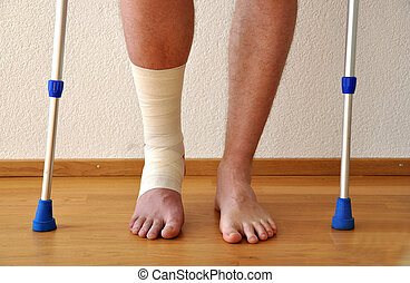 faixa, perna