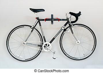 faj, út bicikli, white