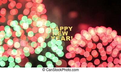 fajerwerki, nowy rok
