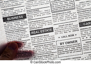 transparent newspaper - Fake Classified Ad, transparent...