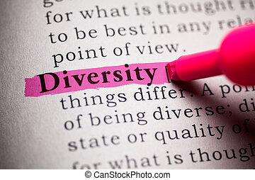 Diversity - Fake Dictionary, definition of the word...