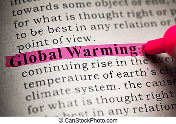 Global Warming - Fake Dictionary, definition of the word...