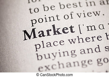 market - Fake Dictionary, definition of the word market.