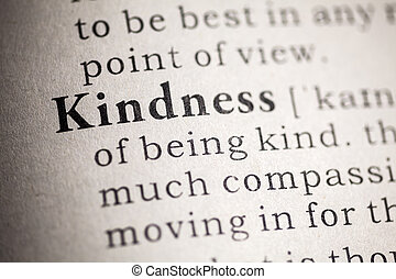 kindness - Fake Dictionary, Dictionary definition of ...