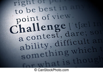 Challenge - Fake Dictionary, Dictionary definition of the...