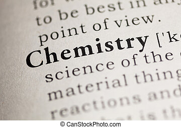 Chemistry - Fake Dictionary, Dictionary definition of the...