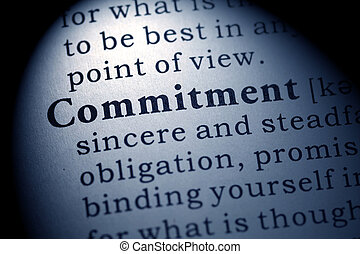 commitment - Fake Dictionary, Dictionary definition of the ...