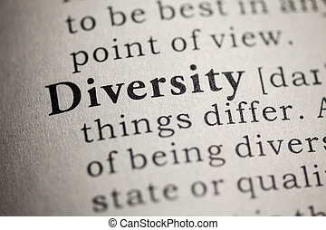 diversity - Fake Dictionary, Dictionary definition of the...