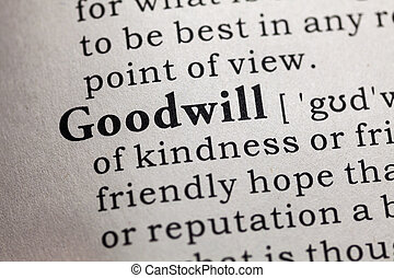 goodwill - Fake Dictionary, Dictionary definition of the ...