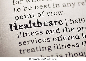 healthcare - Fake Dictionary, Dictionary definition of the...