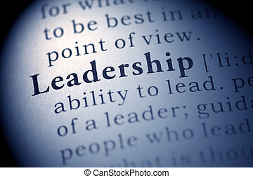Leadership - Fake Dictionary, Dictionary definition of the...