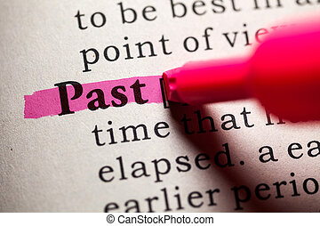 past - Fake Dictionary, Dictionary definition of the word ...