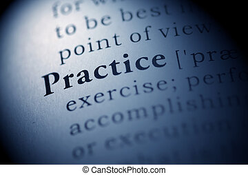 Practice - Fake Dictionary, Dictionary definition of the...