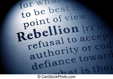 rebellion - Fake Dictionary, Dictionary definition of the ...