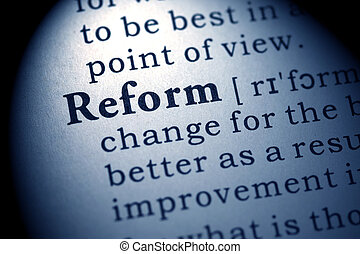 reform - Fake Dictionary, Dictionary definition of the word ...
