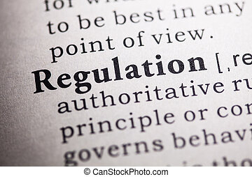 regulation - Fake Dictionary, Dictionary definition of the ...