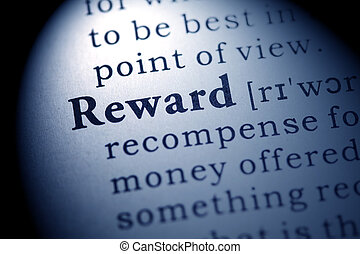 reward - Fake Dictionary, Dictionary definition of the word...