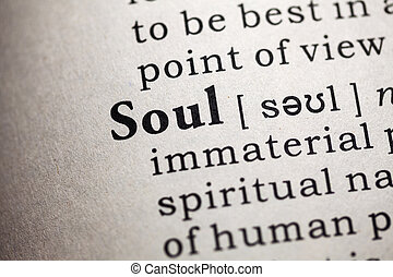soul - Fake Dictionary, Dictionary definition of the word ...