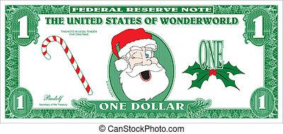 Fake money - Money for Christmas