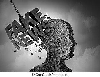 Fake News Breaking Story