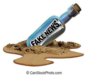 Fake News Communication Symbol - Fake news communication ...