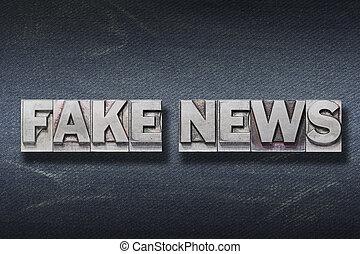 fake news den