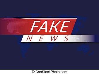 Fake news illustration