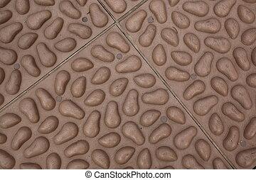 fake pebble stones texture