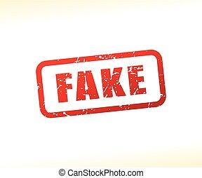 fake text stamp