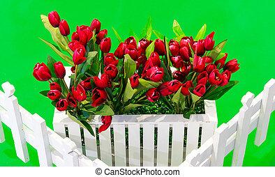 fake tulip