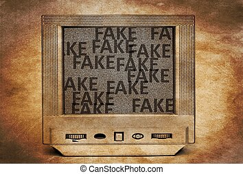 Fake tv program