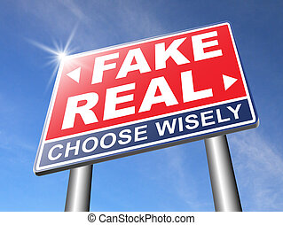 fake versus real critical thinking - fake or real being in...