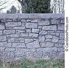 fal, öreg, 2, temető