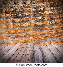 fal, fából való, tégla, piros, emelet