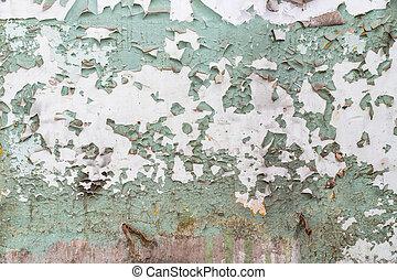 fal, lehámlik festmény