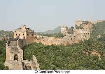 fal, nagy, kína
