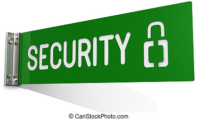 fal, osztály, biztonság, hivatal, aláír