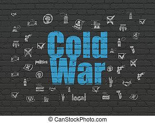 fal, politikai, háttér, hidegháború, concept: