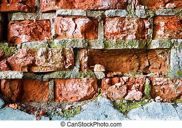 fal, pusztítás